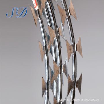 Concertina Barbed Razor Wire China Manufacturer