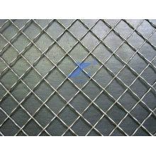 Cerca quadrada da rede de arame da segurança (fábrica)