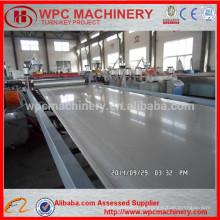 Pó de madeira + máquina composta em pó de PVC / máquina de placa de espuma de PVC WPC