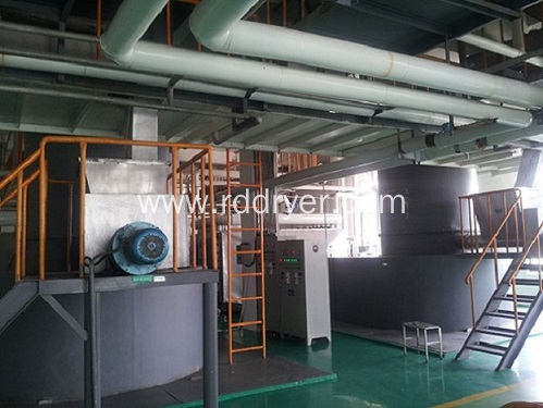 Titanium Dioxide Rotary Spin Flash Drying Machinery