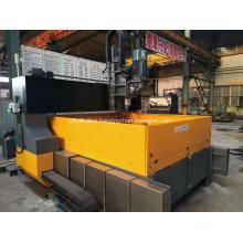 CNC Gantry Plate Drill Machine