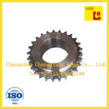 25 Tooth Simplex Duplex Triplex Sprocket Gear with Finished Hole