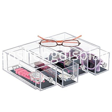 Stackable Eyeglasses Organizer Holder