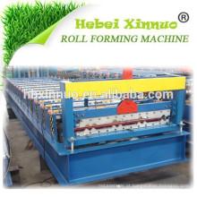 Tipo especial XN-988 de alumínio Telha de telhado bimodal que faz a máquina