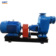 Gold mining self-priming water pump