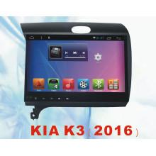 Sistema Android de navegación GPS de coche para KIA K3 2016 con coche DVD Video coche