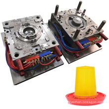 Factory Custom Hot Runner Plastic Parts Injection Mould Auto Chicken Poultry Feeders Mold