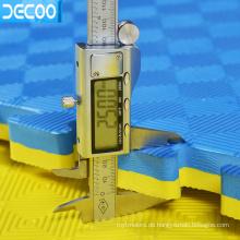 Ungiftige Sicherheitseignung 100 * 100 * 2.0cm EVA-Schaumringspielplatzmatte