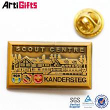 High end guangzhou badge pin