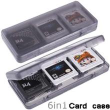 6 em 1 cartão de jogo de proteção Cartucho de shell Caixa de caixa de suporte para Nintendo DS / DS Lite / DSi / 3DS / 3DS XL / LL