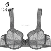 bangladeshi ladies hot sexy photo plus size wide strap sexy full transparent lace underwear fancy girls bra picture