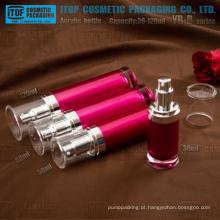 YB-B série 30ml 50ml 80ml 120ml personalizável redondo garrafa vazia loção acrílico