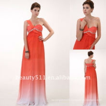 Astergarden floor length sweetheart strapless ons shoulder prom evening dress AS076