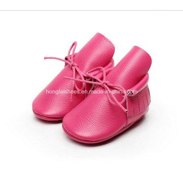 Europe Leather Fringed Baby Shoes 02