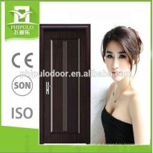 Puerta de melamina HDF de diseño popular de alta calidad de China