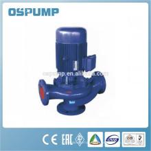 Pompe d'eaux d'égout de canalisation de Non-colmatage, pompe portative d'eaux d'égout