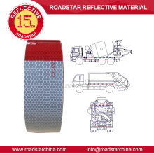 glass beads adhesive reflective tape for trucks