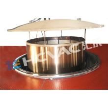 Máquina de revestimento Titanium da chapa de aço inoxidável de Hcvac PVD / máquina de revestimento decorativa da folha (vertical ou horizontal)