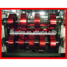 coloured metallic yarn film