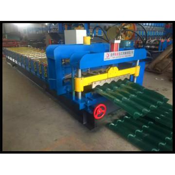 Máquina formadora de rolos de telha vitrificada de alta velocidade, novo produto