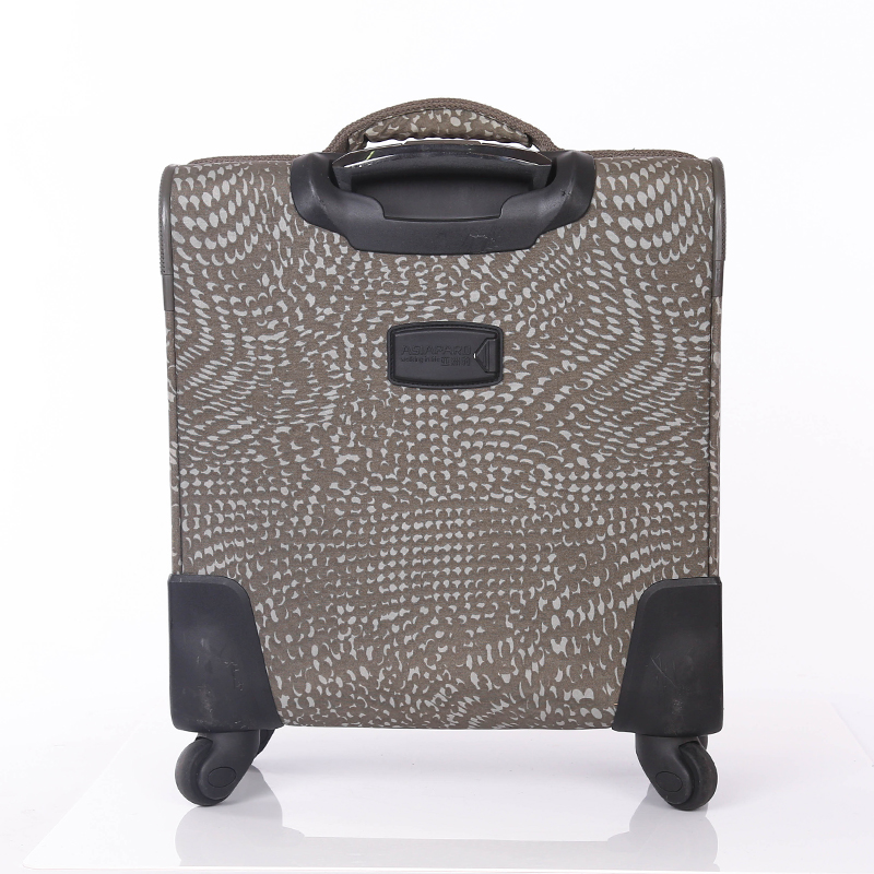 3 pieces PU leather suitcase set