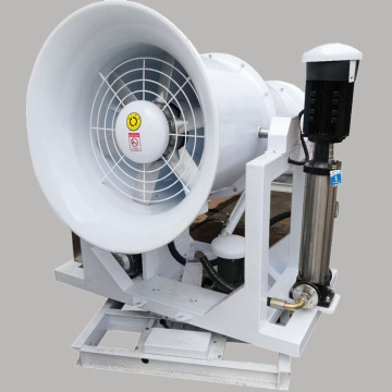 Fog cannon water mist spraying machine