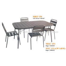 Metal furniture - garden set