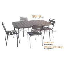 Metal furniture - garden set