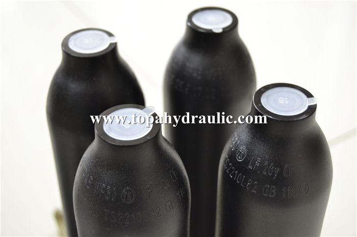 Threaded seamless gas cylinder for Air gun