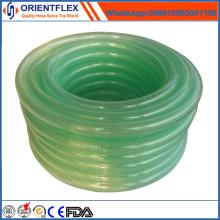 Nenhuma mangueira reforçada da fibra flexível do PVC do cheiro