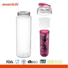 Tritan Wasserflasche mit Infuser, Tee / Obst Infuser
