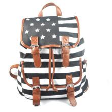 цветной печати холст рюкзак сумка