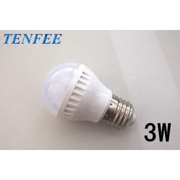 led light bulb plastic 3w E27 good radiator