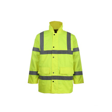 Class3 Eniso 20471: 2013 Waterproof Hi Viz Reflective Safety Jacket