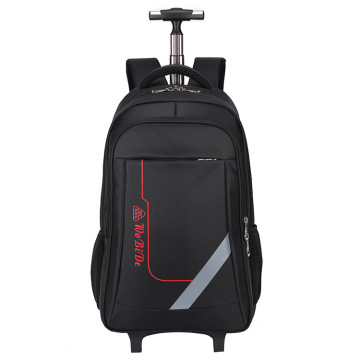 Rolling Backpack with Trolley