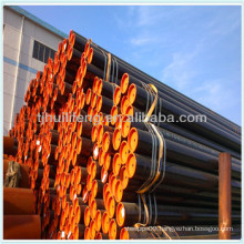 3PE coated 28 inch seamless steel tube