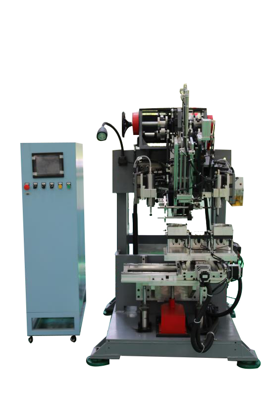 3 Axes Drilling and Tufting Brush Machine