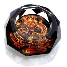 Magnifique Crystal Crafts Cher Cigar Cendrier