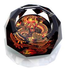 Beautiful Crystal Crafts Cheap Crystal Cigar Ashtray