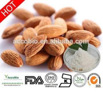 Polvo amargo certificado orgánico natural del extracto de las semillas del núcleo del albaricoque 100% natural