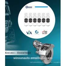 Kits de reparación del juego de taza Knorr Caliper K001301 - II350470063 81508226025 - 1439494 Para piezas de repuesto para camiones