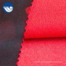 Полиэстер с камуфляжным принтом Трикотажная текстильная ткань