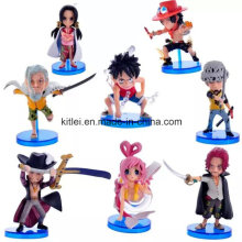 Angepasste Whole Sales Kunststoff Action Figure Weihnachten Kinder Spielzeug