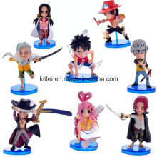 Mini-presente de Natal de alta qualidade de plástico Action Figure Baby Kids Toys