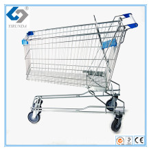180L China-Made Asia Shopping Cart with Big Capacity