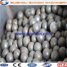 dia.60mm,80mm,115mm grinding media balls,forged steel grinding media balls for copper mines and rare metal ores