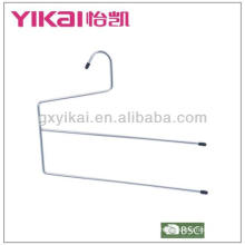 Chrome plated metal trousers hanger