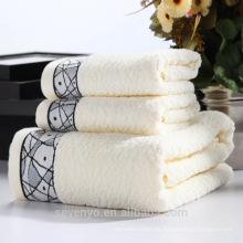 Juego de toallas premium súper cómodo 100% algodón