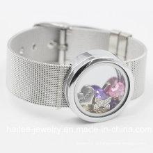 Pulseira de jóias de aço inoxidável com pingente de Locket