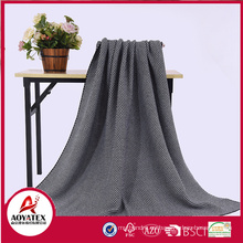 Home textile acrylic fabric blanket for gift